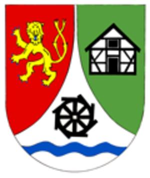 Berzhausen - Image: Wappen Berzhausen klein