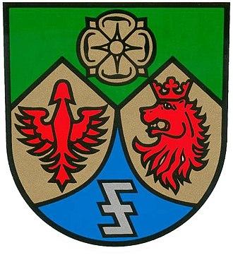 Wolfsangel - Image: Wappen marpingen