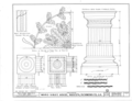 Ware-Sibley-Clark House, 506 Telfair Street, Augusta, Richmond County, GA HABS GA,123-AUG,36- (sheet 6 of 8).png