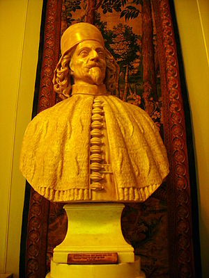 Giovanni Pesaro - Bust of Pesaro on display in the Royal Castle, Warsaw.