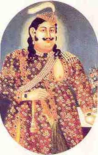 Sikandar Bagh - Wajid Ali Shah, Nawab of Oudh, builder of the Sikandar Bagh