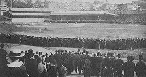 Washington Park (baseball) - Washington Park in the 1880s
