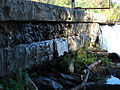 Washington Aqueduct dam - Virginia abutment - Great Falls of the Potomac River - 2007-10-31.jpg