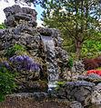 Waterval. Locatie, Chinese tuin Het Verborgen Rijk van Ming in de Hortus Haren 04.jpg