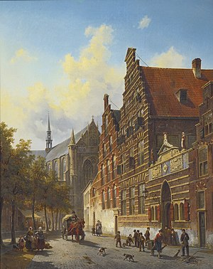 Jacques Carabain - The Holy Spirit Orphanage in Leiden.