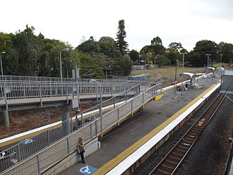 Redland City - Wellington Point station, the Redlands' third stop along the Cleveland line