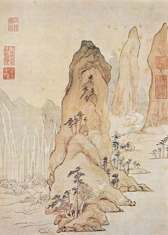 1576 in art - Wen – Landscape in the Spirit of the Verses of Du Fu, National Palace Museum