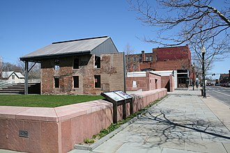 Women's Rights National Historical Park - The remains of the Wesleyan Chapel
