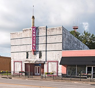 West Columbia, Texas - Capitol Theater