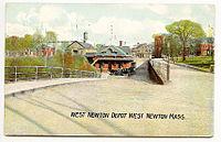 West Newton station 1907 postcard.jpg