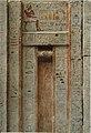 West wall of the chapel of Kaemsenu with niches for Iretnub, Kaemsenu and Werdjedptah MET 26.9.1 01.jpg