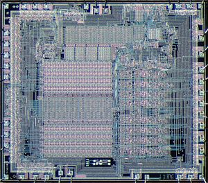 MCP-1600 - Image: Western Digital 1611 die