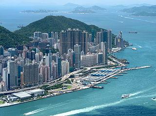 Sai Ying Pun Area of Western District, Hong Kong
