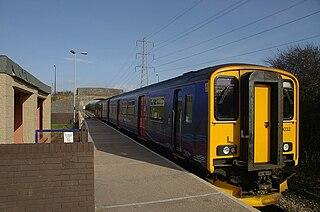 Weston Milton railway station Railway station in Weston-super-Mare, England