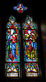 Wexford Church of the Immaculate Conception South Aisle Window Crowned Madonna and Joseph 2010 09 29.jpg