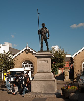 Wexford Pikeman Statue by Oliver Sheppard in memory of the 1798 rebellion Wexford Pikeman Statue by Oliver Sheppard 2010 09 29.jpg