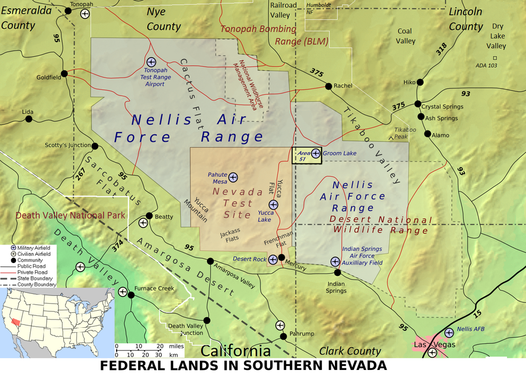 Topographic Map Of Nevada.File Wfm Area51 Map En Png Wikipedia
