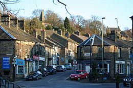Whaley Bridge – Veduta