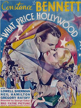 Advertentie voor What Price Hollywood?