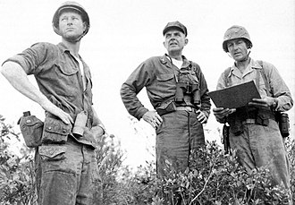 Colonel (United States) - A U.S. Marine colonel (center) during the Vietnam War.