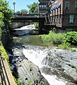Whetstone Brook under Main Street Bridge Brattleboro Vermont.jpg