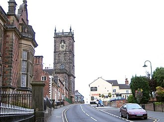 Whitchurch, Shropshire - Bargates, Whitchurch