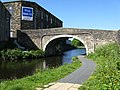 Whitefield Bridge 141, Leeds and Liverpool Canal, Nelson - geograph.org.uk - 841400.jpg