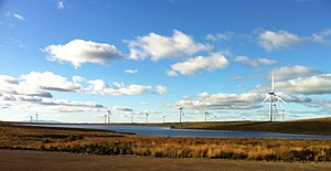 Teilansicht Whitelee Wind Farm