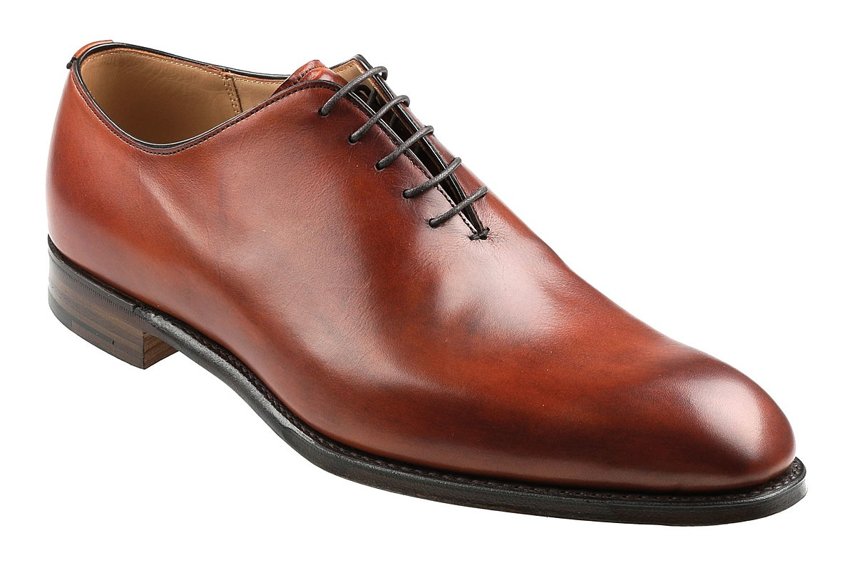 Wholecut Leather Shoes