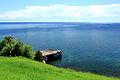Widok z Listwianki na jezioro Bajkał 12.JPG