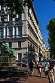 Wien - Opernring - View ENE on Goethe Statue.jpg