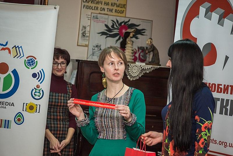 Оля Нестеренко, волонтерка конкурсу