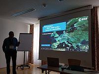 Wikimedia Hackathon 2017 - ESA 01.jpg