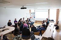 Wikimedia Hackathon Vienna 2017-05-20 Ladies that FOSS and Women in Tech 01.jpg