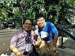 Wikimedian from Indonesia and Taiwan in Wikimania.jpg
