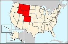 Wikivoyage US regions - Rocky Mountains states.jpg