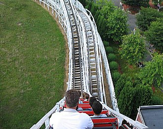Wildcat (Lake Compounce) - Image: Wildcat Coaster