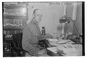 Willard Dickerman Straight - Straight in 1917