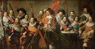 Schutterstuk officers of the Oude Schutterij of Alkmaar