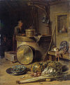 Willem Kalf - Peasant Interior with Woman at a Well.jpg