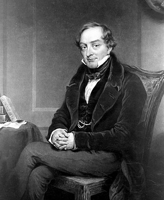 Sir William Lawrence, 1st Baronet - William Lawrence in 1839