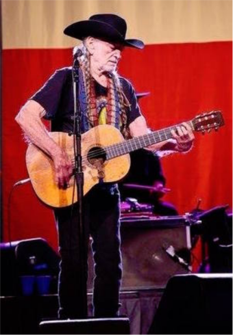 Willie Nelson has won twice. Willie Nelson in Kansas.png