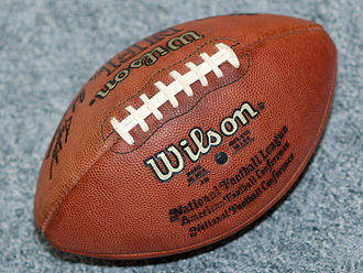 Sports equipment - 1990–2005 style official NFL ball