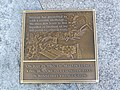 Winnetka Village Green Martin Luther King Jr. Visit Plaque.jpg