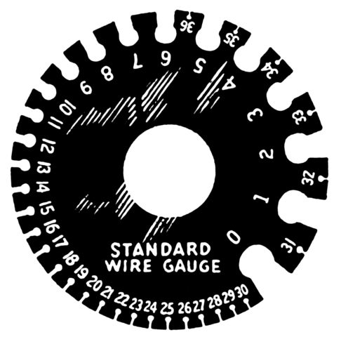 Filewire Gauge Psf