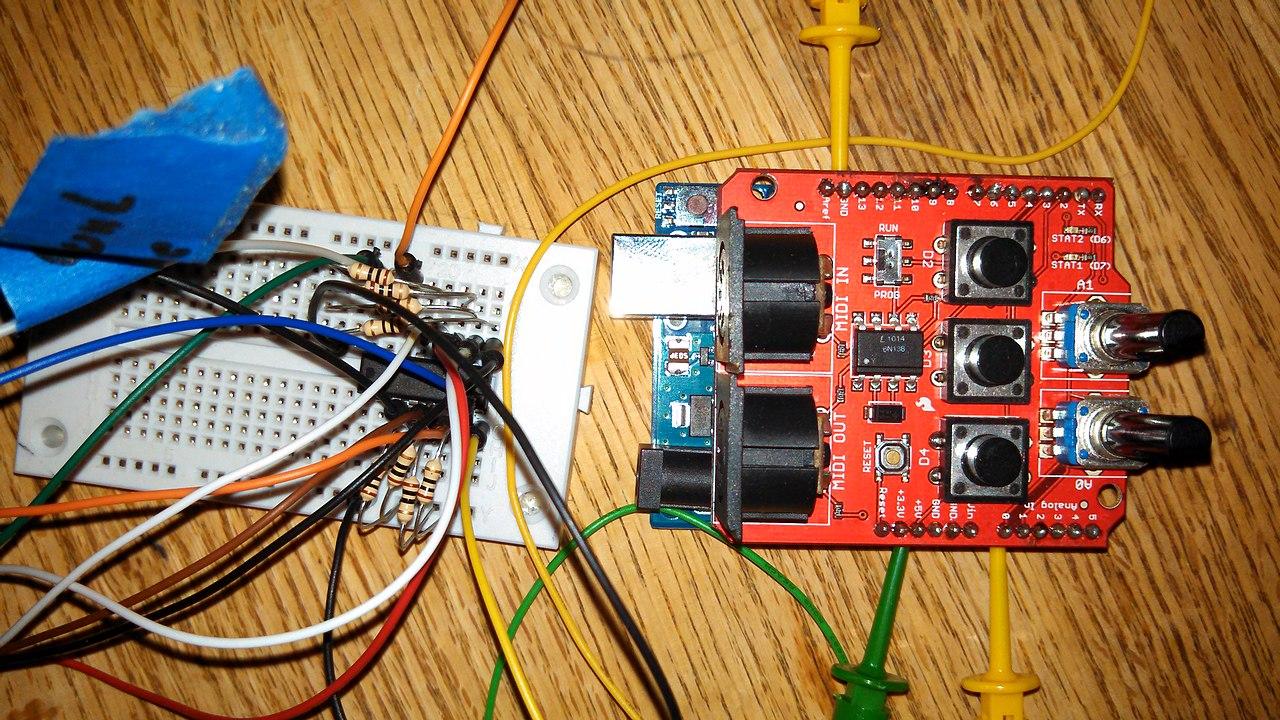 File:Wiring harness with midi shield.jpg