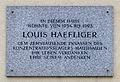 Wohnhausanlage Vierthaltergasse 11-17 - plaque Louis Häfliger.jpg