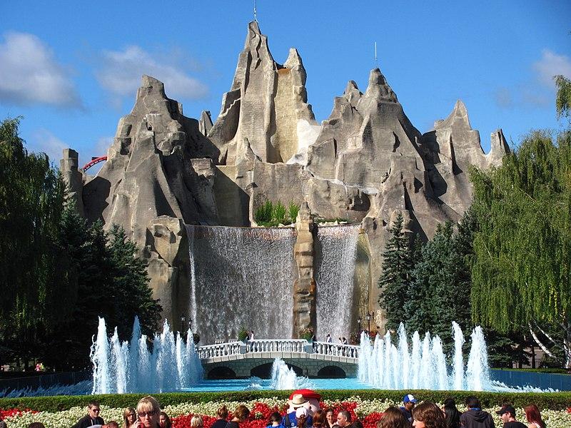 centerpiece at Canada's Wonderland theme park, Vaughan, Ontario