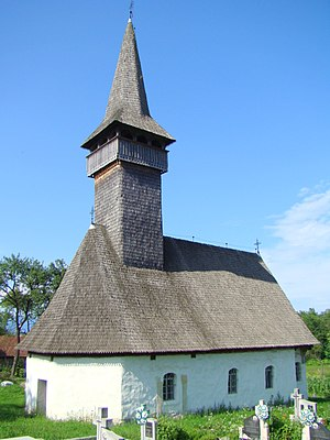 Coaș - Wooden Orthodox church (1730)