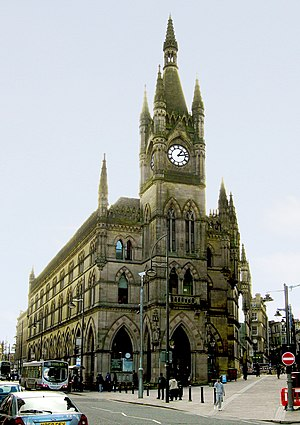 Henry Francis Lockwood - Image: Wool Exchange, Bradford 045